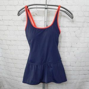 Tommy Hilfiger 12 Navy Blue Swimsuit - Swim dress